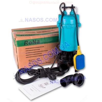 Дренажно-Фекальный насос Rona WQD 12C (с измельчителем)